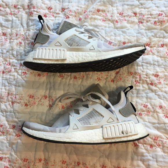 dec022775 adidas Other - Adidas NMD XR1 duck camo white sneakers